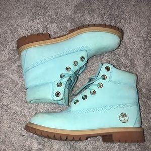 Mint Timberland Boots